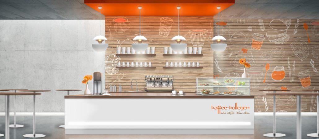 Planung Und Einrichtung Kaffee Kollegen